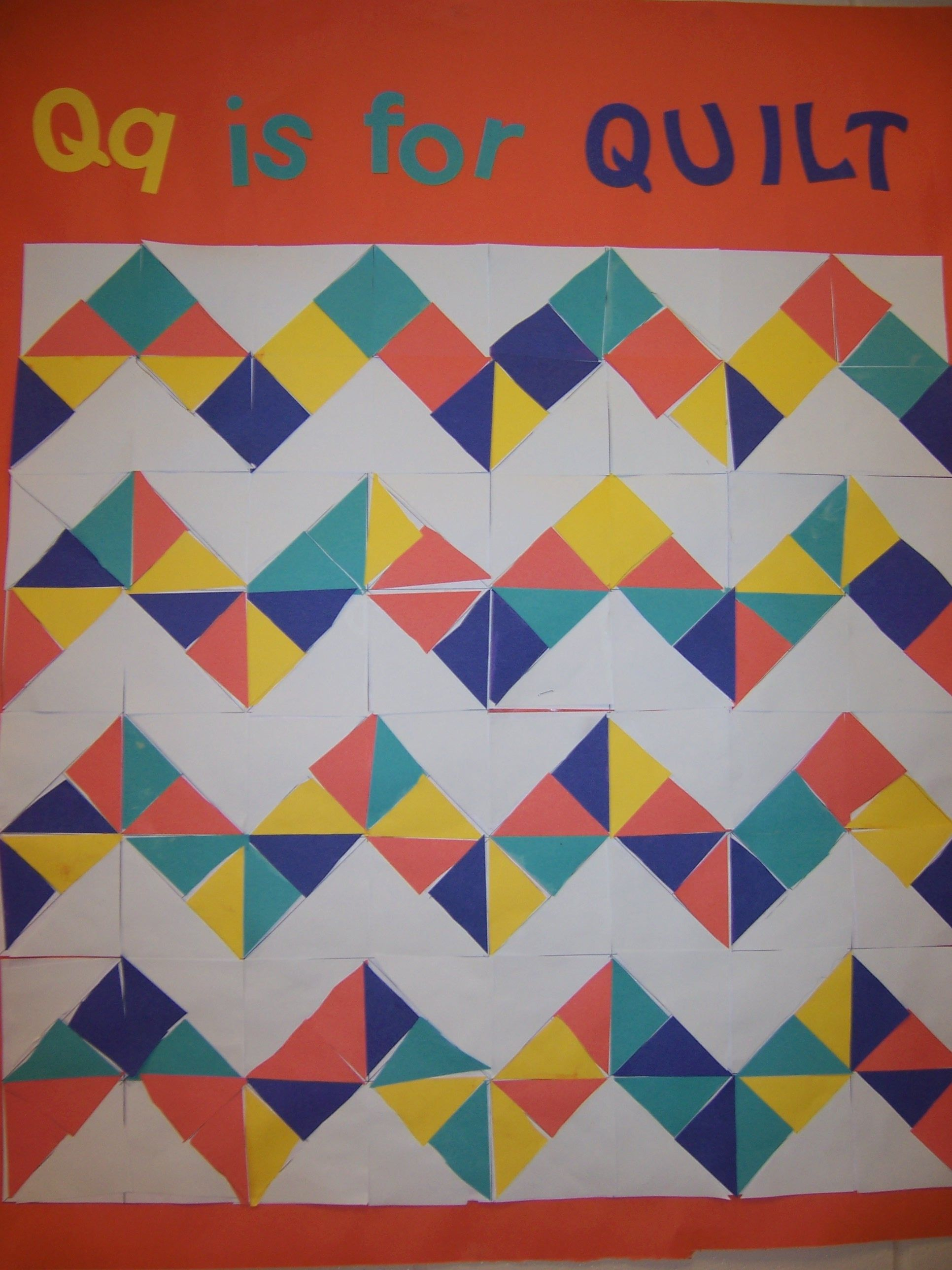 Letter Q Is For Quilt Squares