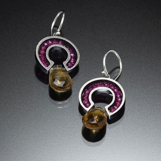Kinzig Design Jewelry Susan Kinzig Earrings 64r Artistic Artisan