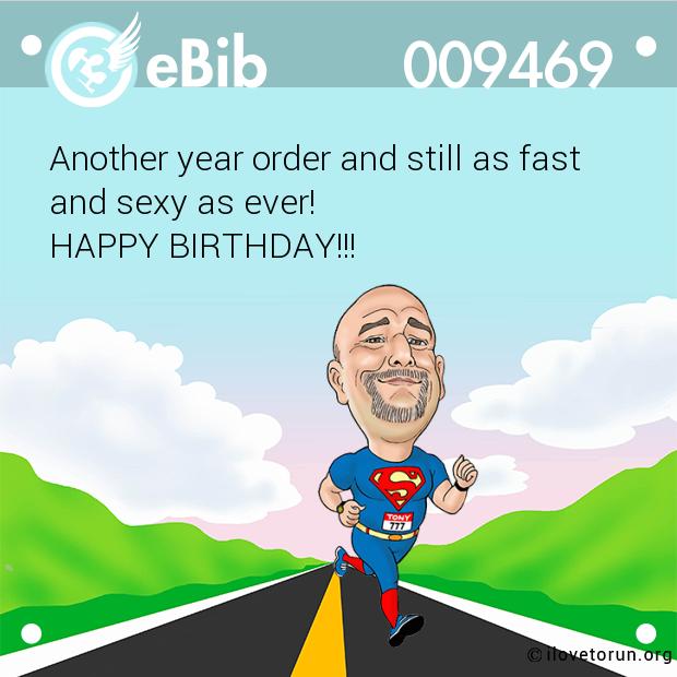 Ebib 9469 Funny Birthday Cards Runner Quotes Happy