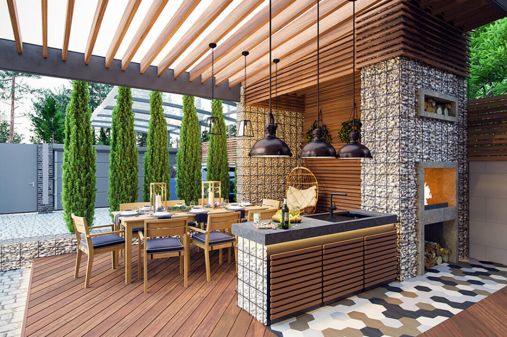 Custom Made Outdoor Kitchen Ideas and Designs What's