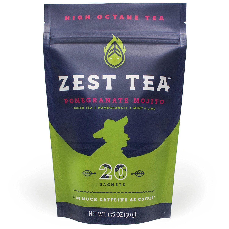 Pomegranate Mojito Green Energy Tea Healthy Coffee