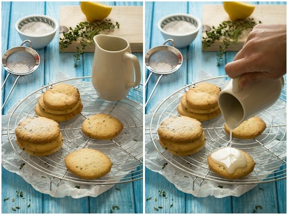 Biscotti al timo, menta e limone - Herby and lemon cookies