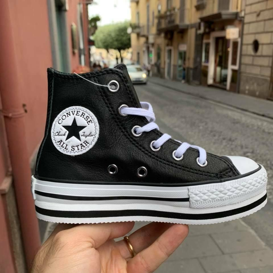 converse all star borchie bambina
