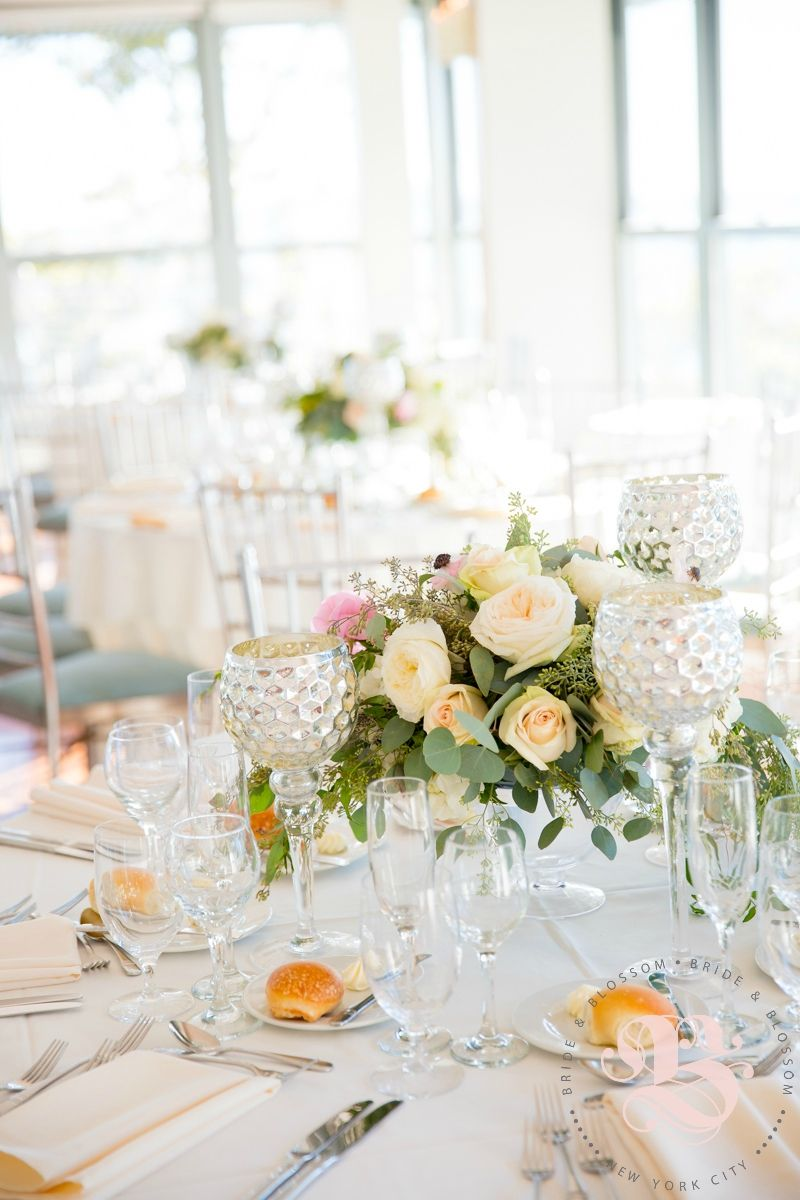 Lush, Natural Centerpiece | Bride & Blossom Tomantic table ...