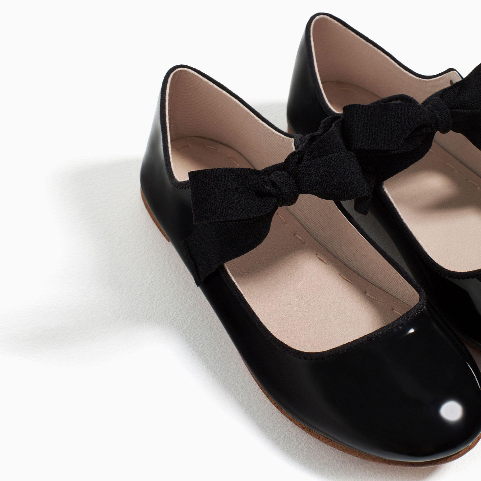 6757314e Lazo Escolares Niños Zapatos Para Charol Bailarina Zara Niñas Niña 1pUqFtw1