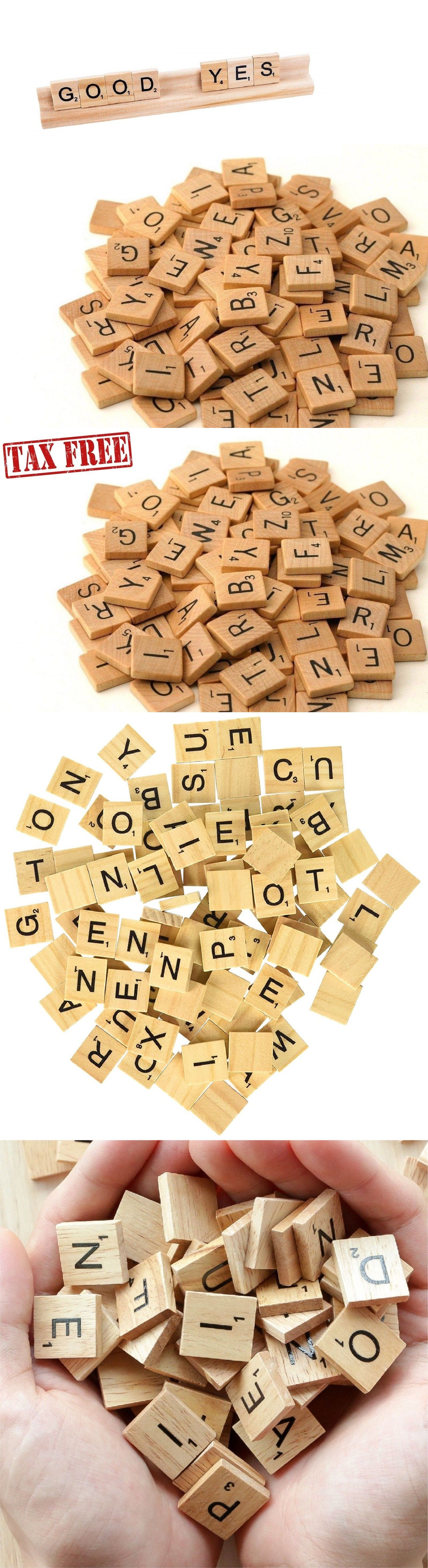 28+ Wooden letter tiles for crafts ideas