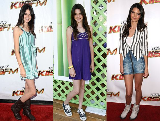 Young Kendall Jenner Bad Fashion Style Crimes On Red Carpet Pictures Bad Fashion Fashion Oops Fashion