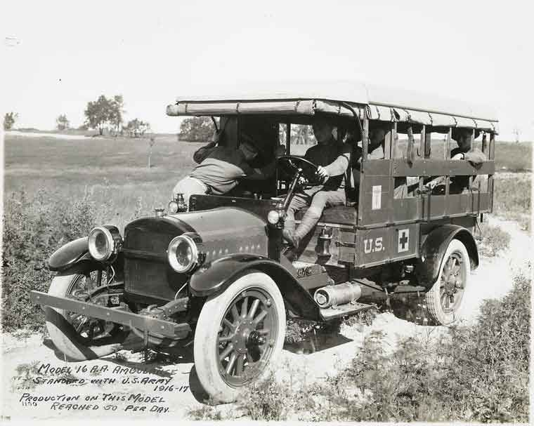 Trucks Of Ww1 Armchair General And Historynet The Best Forums In History General Motors Ambulance General Motors Cars