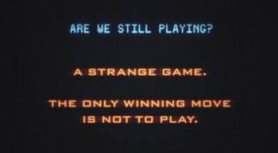 Wargames Worthy Quotes Movie Quotes Famous Author Quotes