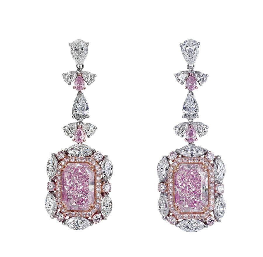 Jewelry From The Stunning Pink Diamonds From The Argyle Mine In Graff Pink  Diamond