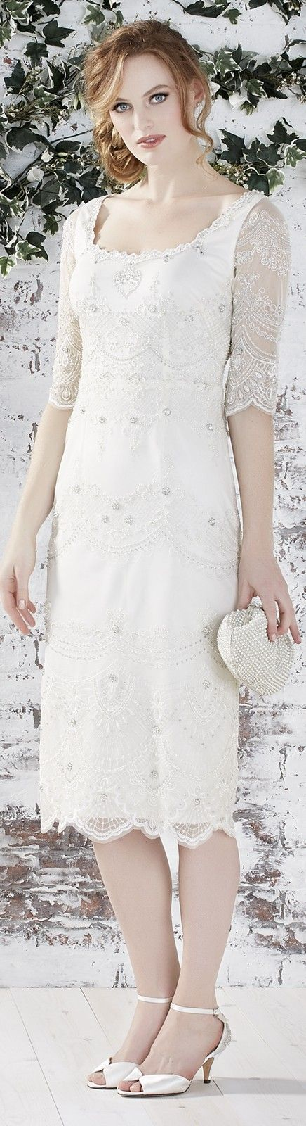 Wedding dress ideas for casual brides. Read article with