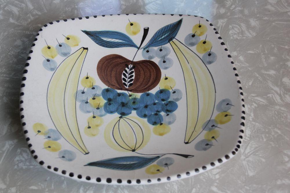 Keramikk: Graverens Fruit Plate