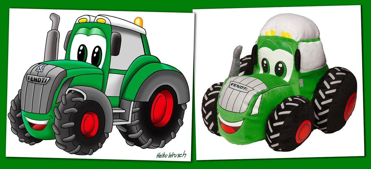 Fendt Traktor Illustration Fendti Heiko Wrusch Jpg 1276 580 Fendt Traktor Traktor Fendt