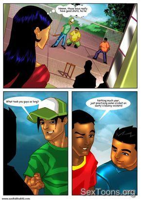 Savita Bhabhi Adult Comics Episode 2 English Cricket