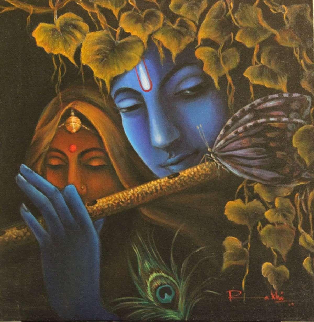 Krishna fondos de alta definición