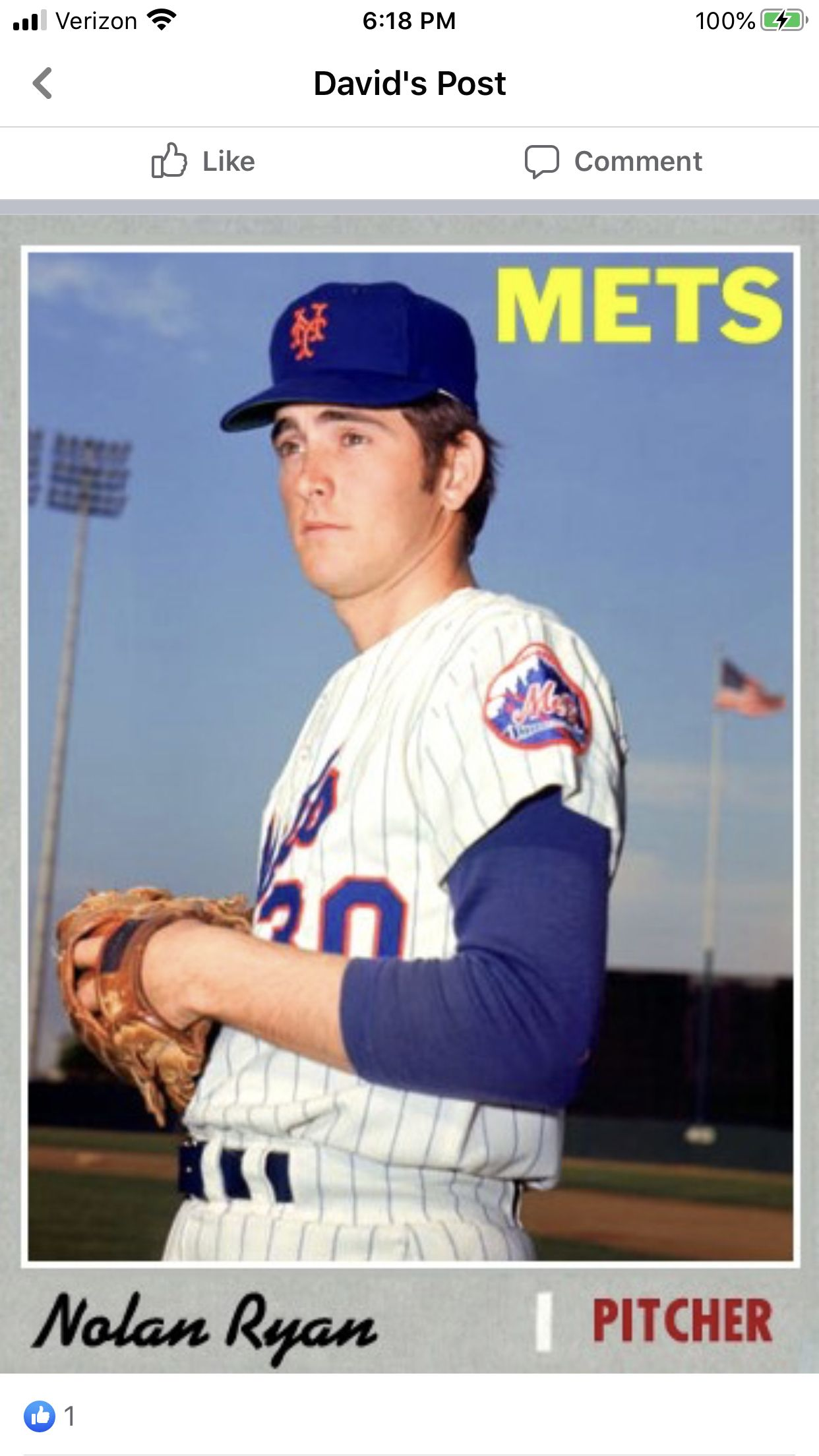 Pin by Maynman on 1970 new york mets cards in 2020 New