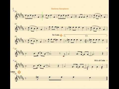 Radioactive Imagine Dragons Baritone Saxophone Sheet Music Chords And Vocals Tenor Saxophone Sheet Music Trumpet Sheet Music Saxophone Sheet Music