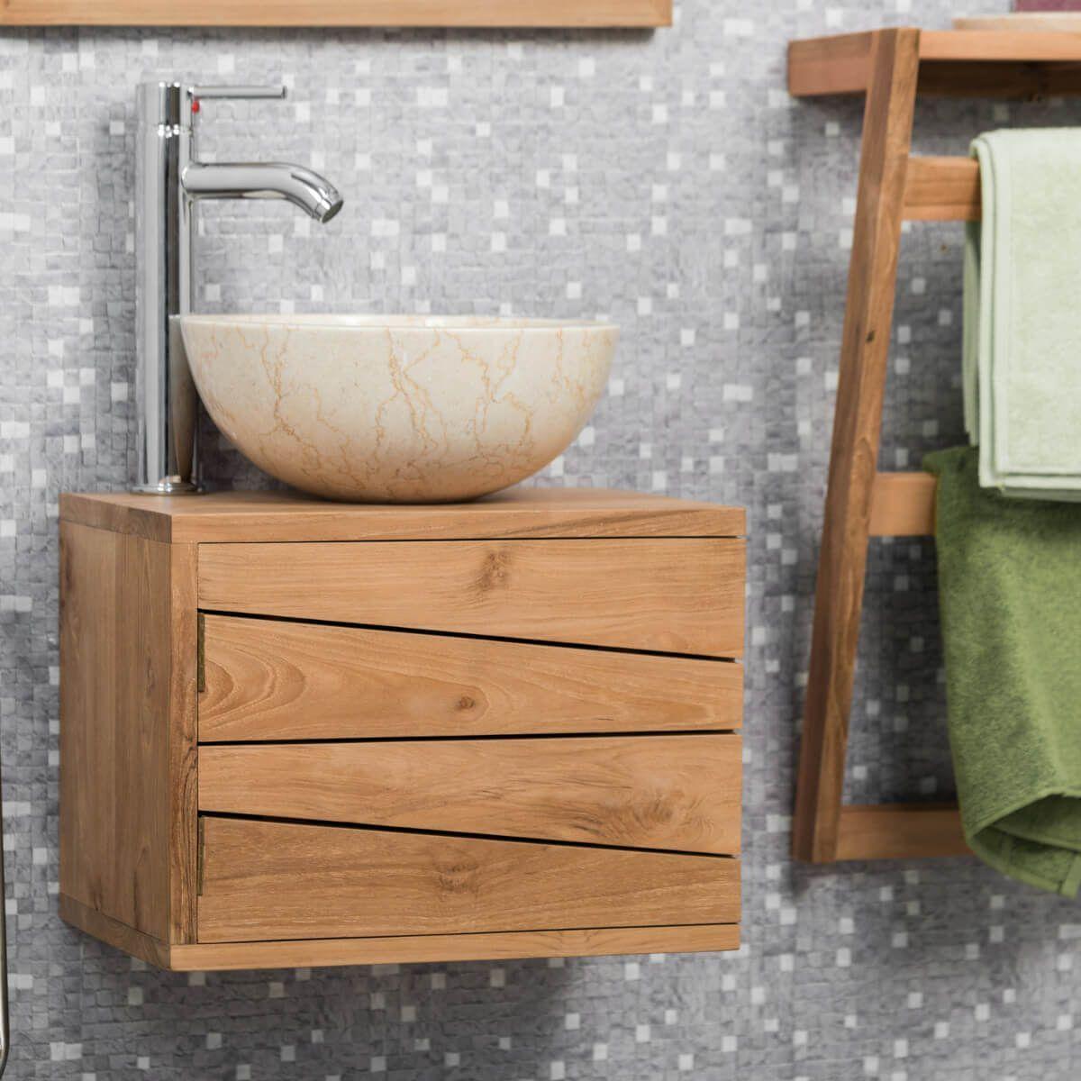 Creez Une Harmonie Parfaite Dans Votre Piece Avec Le Petit Meuble De Salle De Bain Suspendu Cosy Bathroom Vanity Units Small Bathroom Furniture Small Bathroom