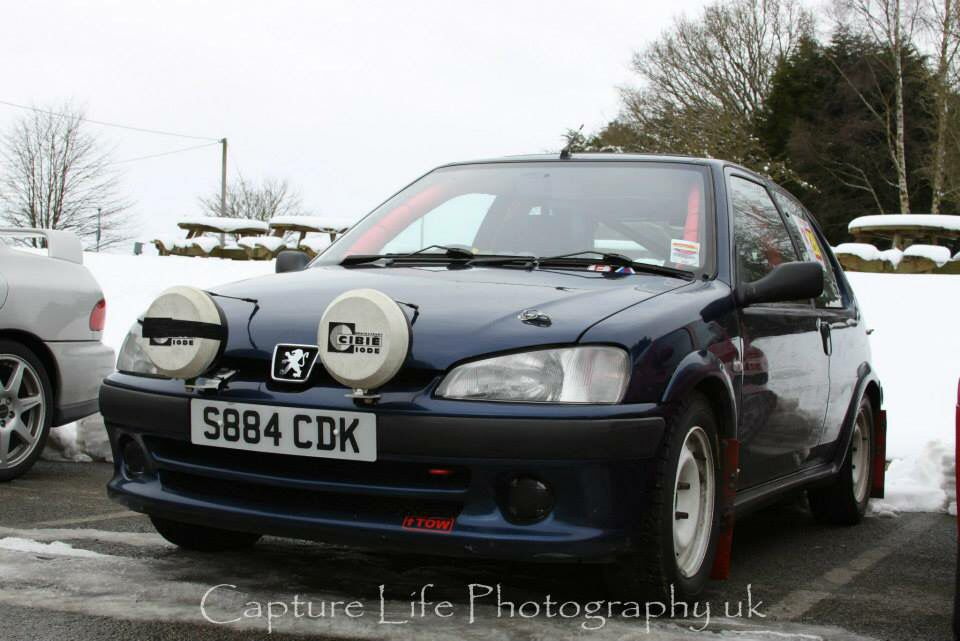 My Road Rally Car - Peugeot 106 GTi | Peugeot | Pinterest | Rally ...