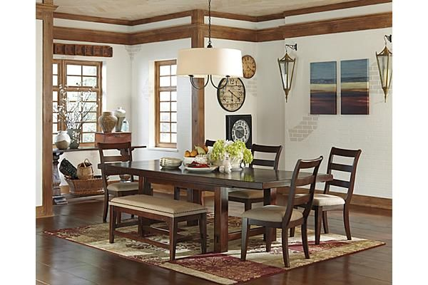 The hindell park dining room bench from ashley furniture homestore afhs com