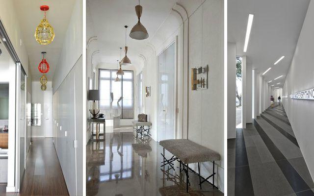 C mo iluminar el pasillo ideas para decorar el pasillo - Como iluminar un escaparate ...