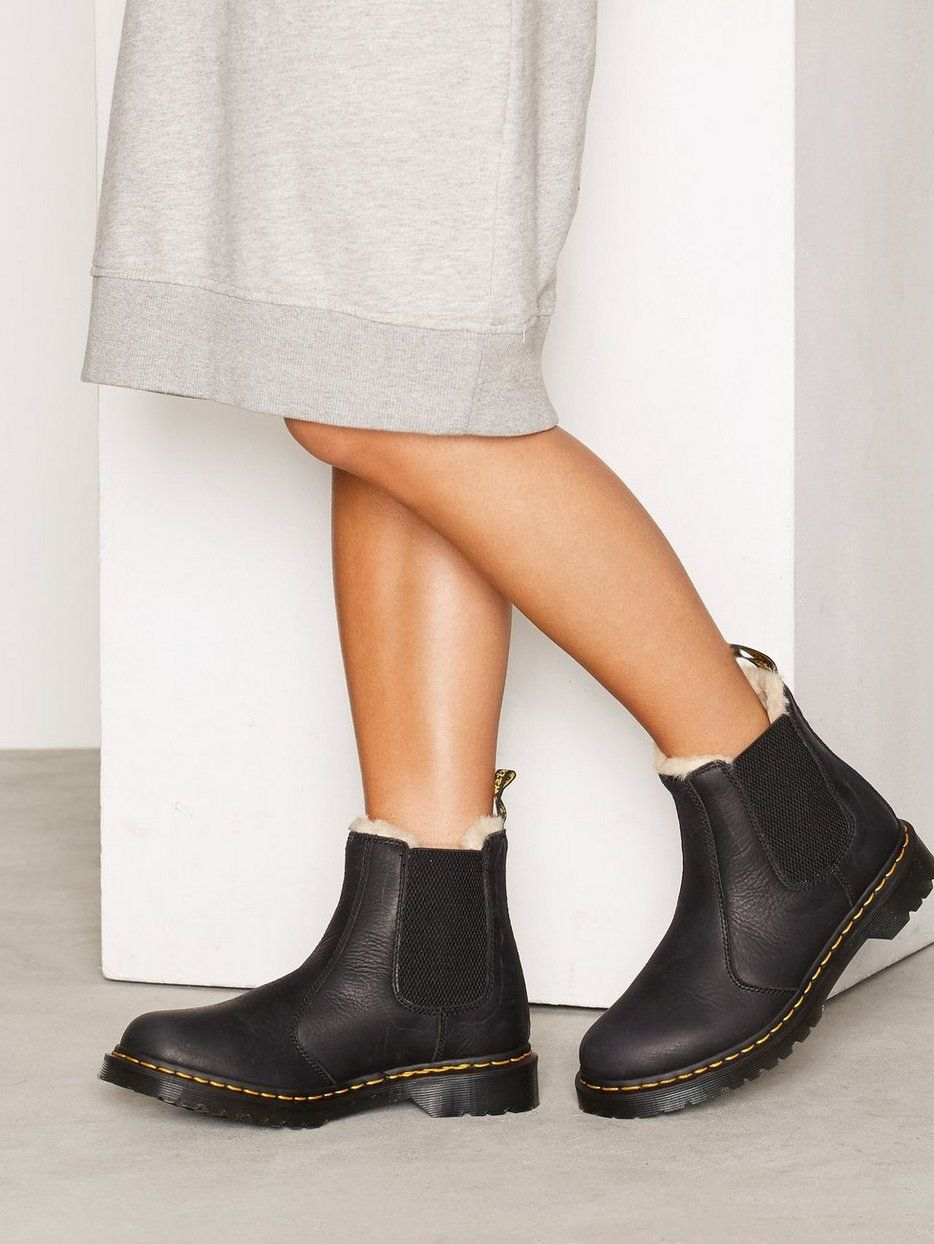 Leonore in 2020 | Black chelsea ankle boots, Dr martens