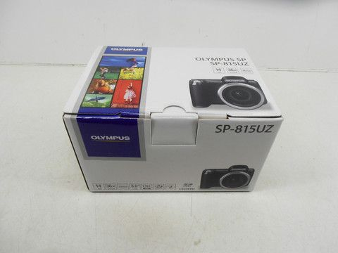 Olympus Sp-815uz 14mp Digital Camera Hdmi 36x Wide Angle 3d - Black  $228 Value