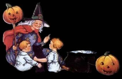 Good Witch Talking to Children