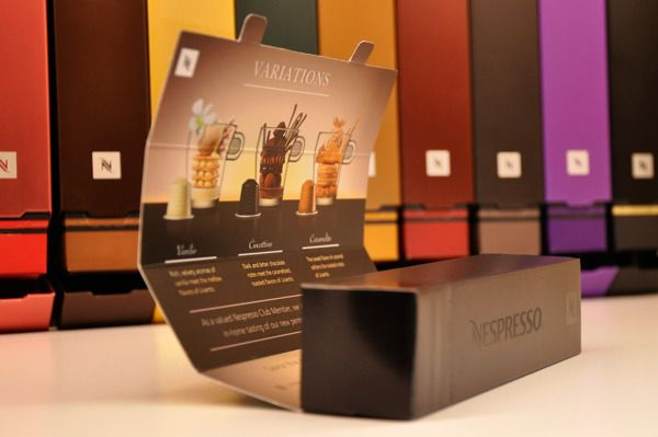 Nespresso packaging by Luis Acosta