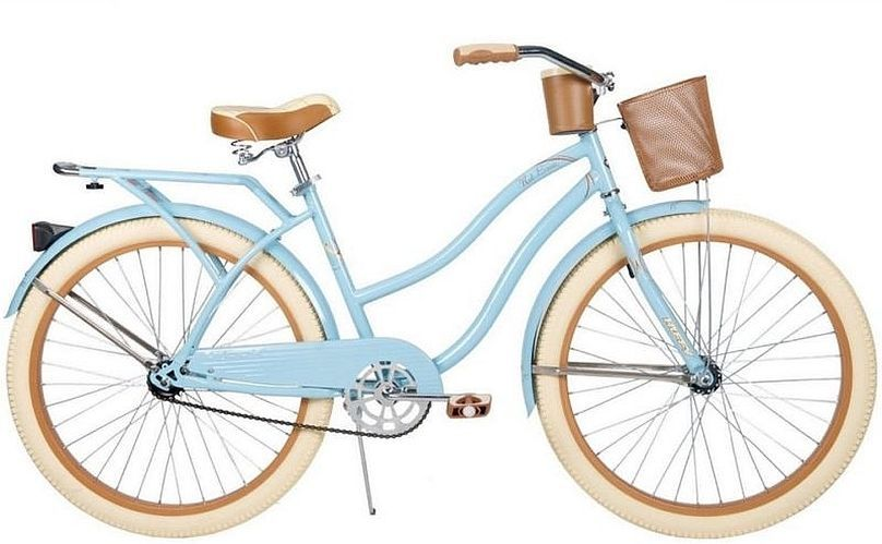 Old fashioned bike with basket ladies 45