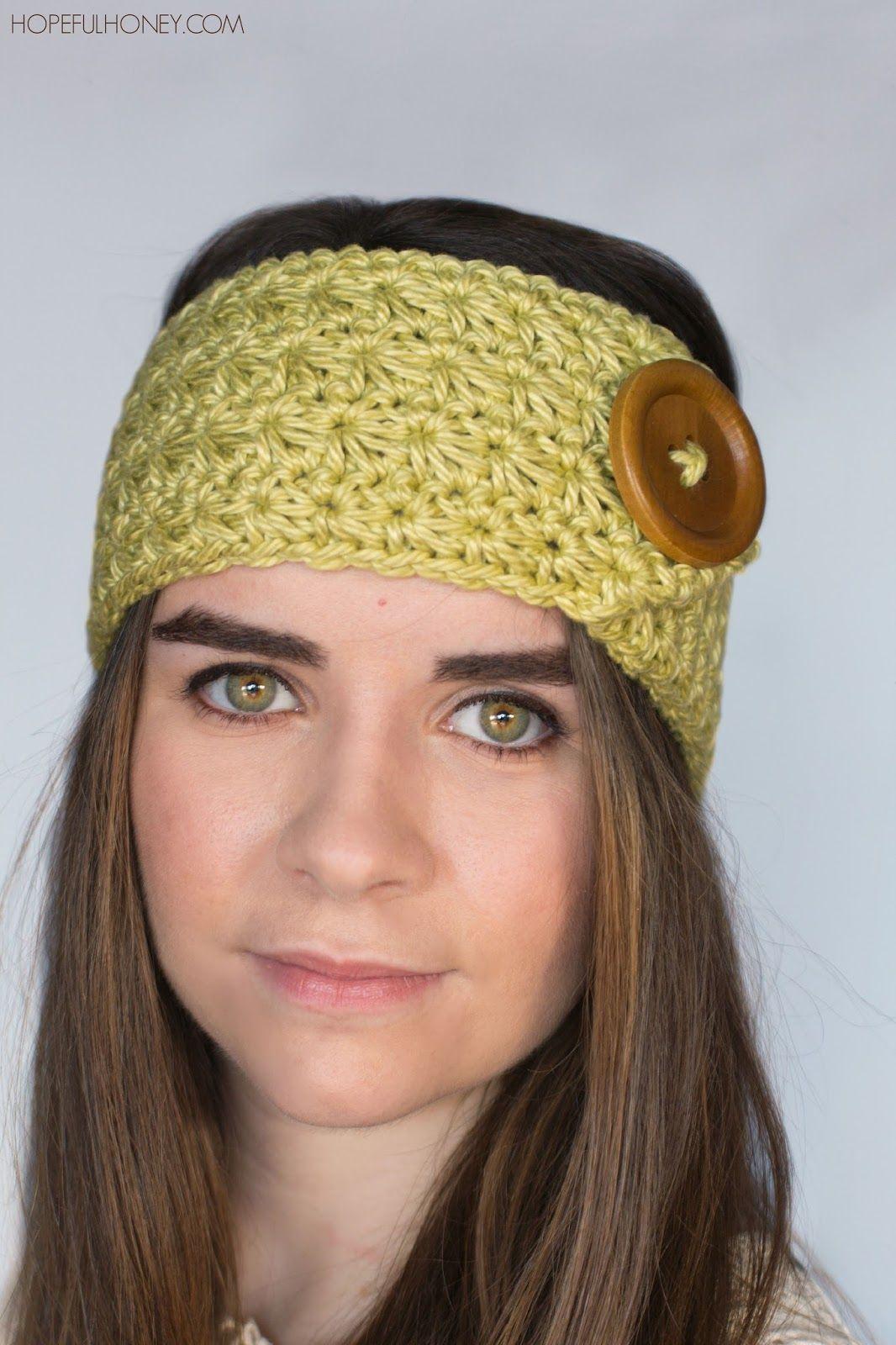 Enchanted Forest Headband Crochet Pattern  Free crochet Enchanted