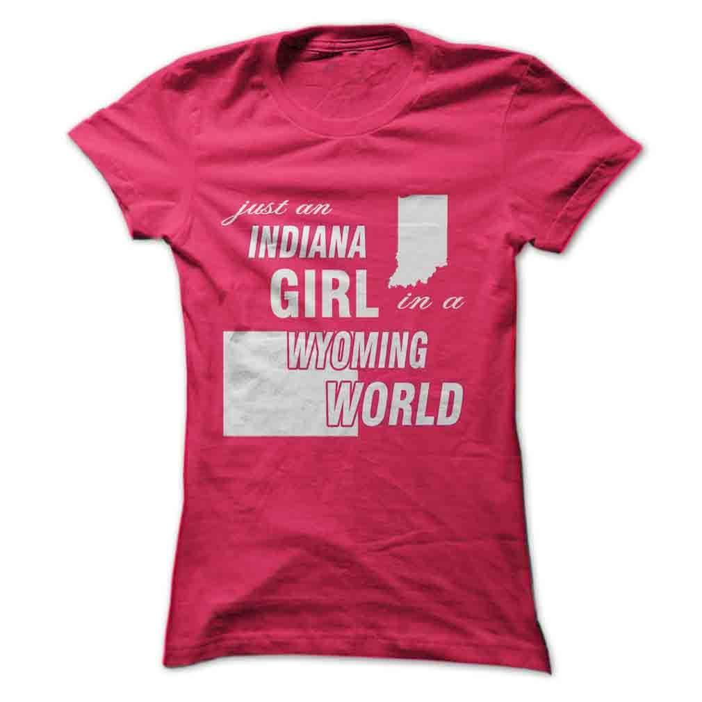 Indiana girl in wyoming shirts sweatshirt shirt