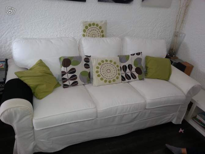 canap ik a 3 places convertible 160cm ameublement alpes maritimes nice living. Black Bedroom Furniture Sets. Home Design Ideas