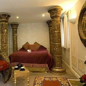 Bedroom egyptian interior designs for homes Egyptian I dream