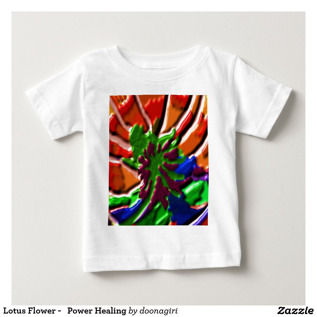 Lotus flower power healing baby t shirt 101 zazzle pro favorite lotus flower power healing baby t shirt izmirmasajfo Images