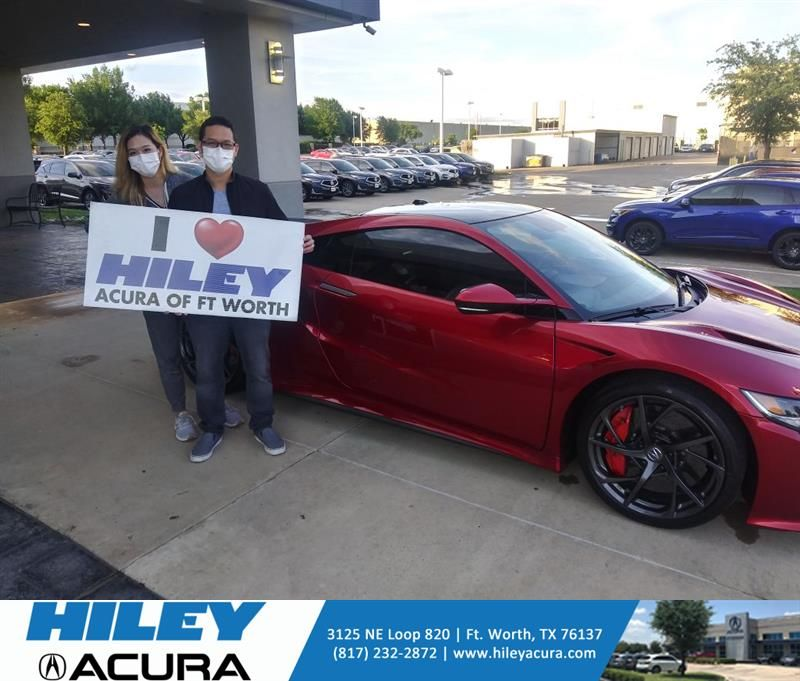 Congratulations Bryan on your #Acura #NSX from Tony Gant at Hiley Acura! #NewCar