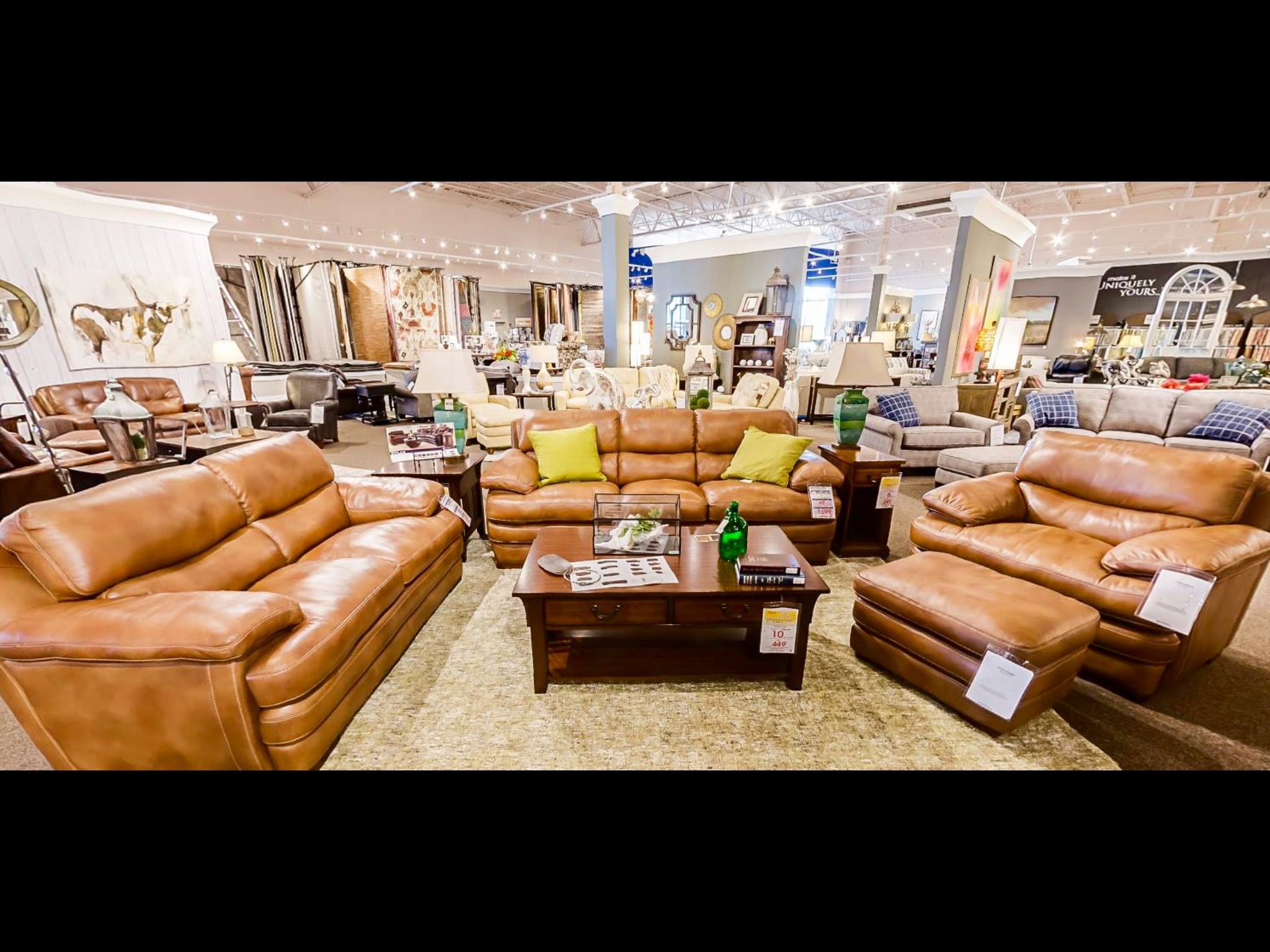 Leather Sofa Group Furniture Mall Of Kansas