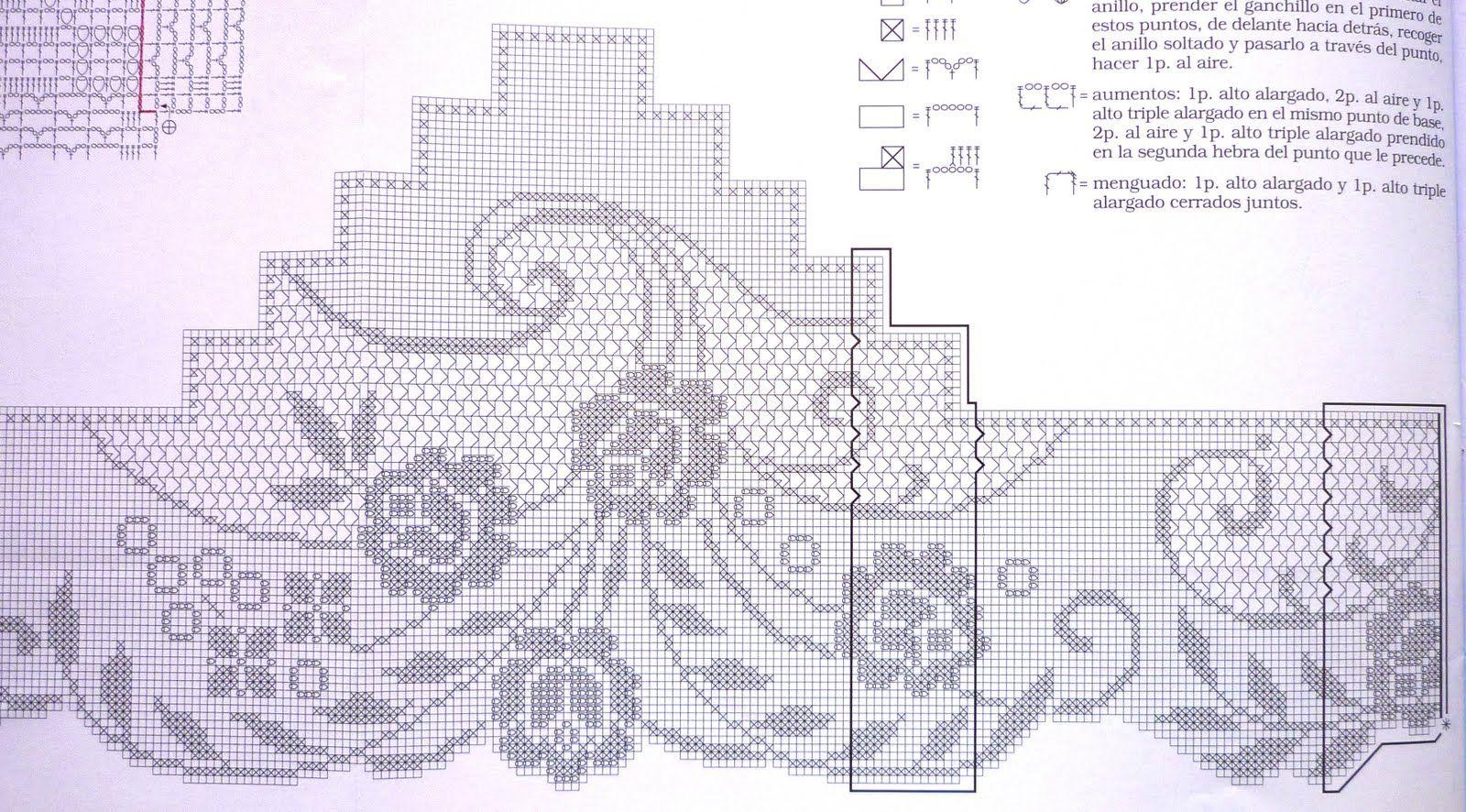 crochet em revista | ŠEME ZA HEKLANjE | Ganchillo, Croché, Bordado
