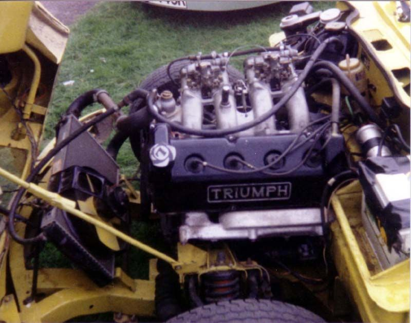 Triumph Spitfire Engine Swap Tattoos English Cars Engine Swap