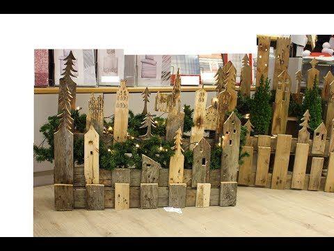 weihnachtsdeko youtube weihnachtsdekoration weihnachten deko weihnachten und paletten. Black Bedroom Furniture Sets. Home Design Ideas