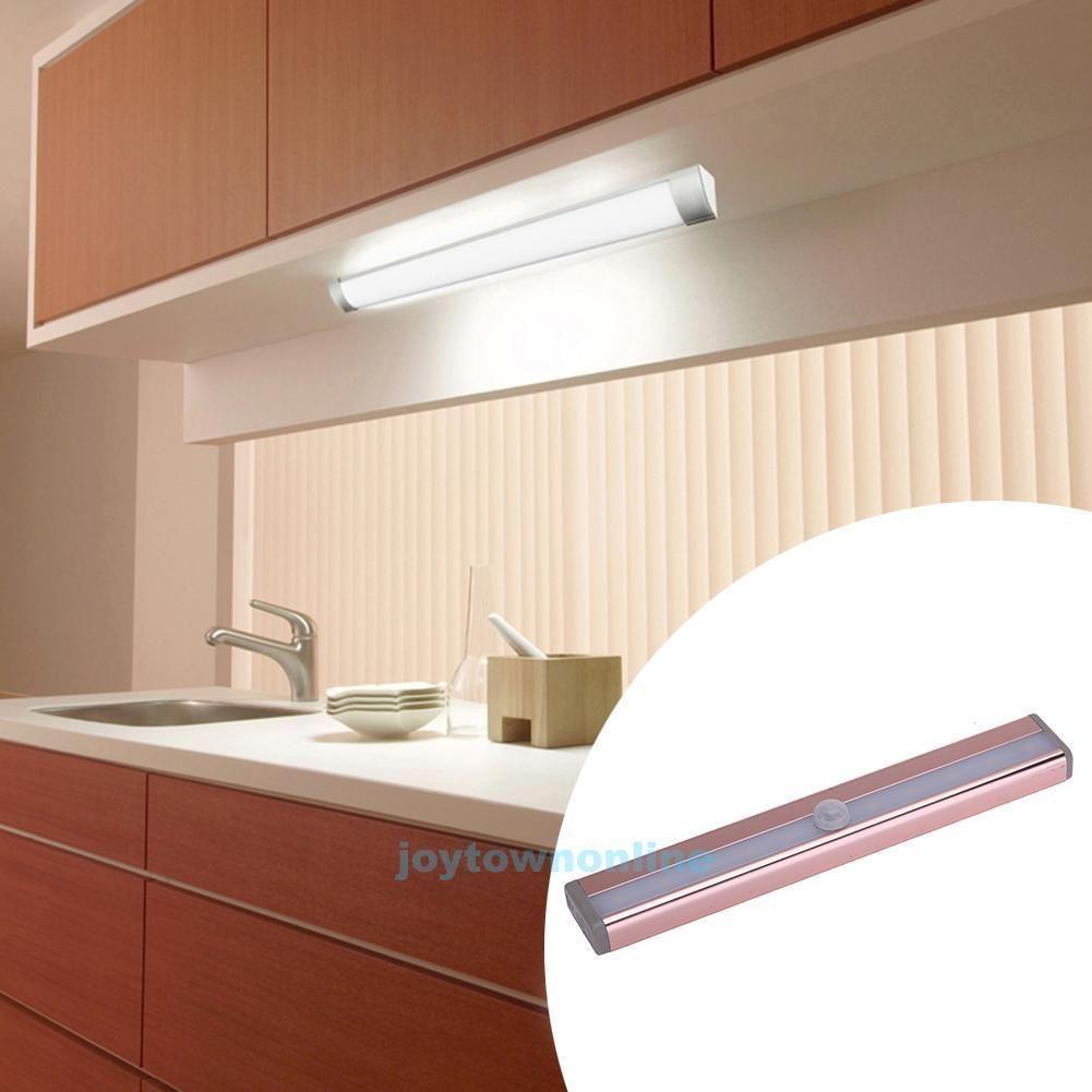 led wireless cabinet closet light pir motion sensor wall