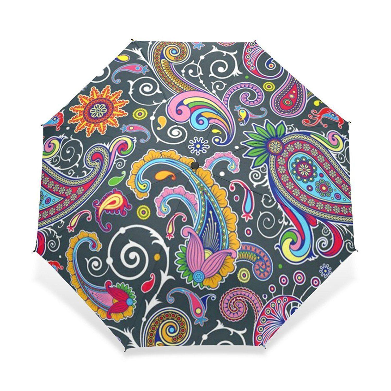e6873064fef4 AmazonSmile: BAIHUISHOP Windproof Golf Umbrella, Compact for Travel ...