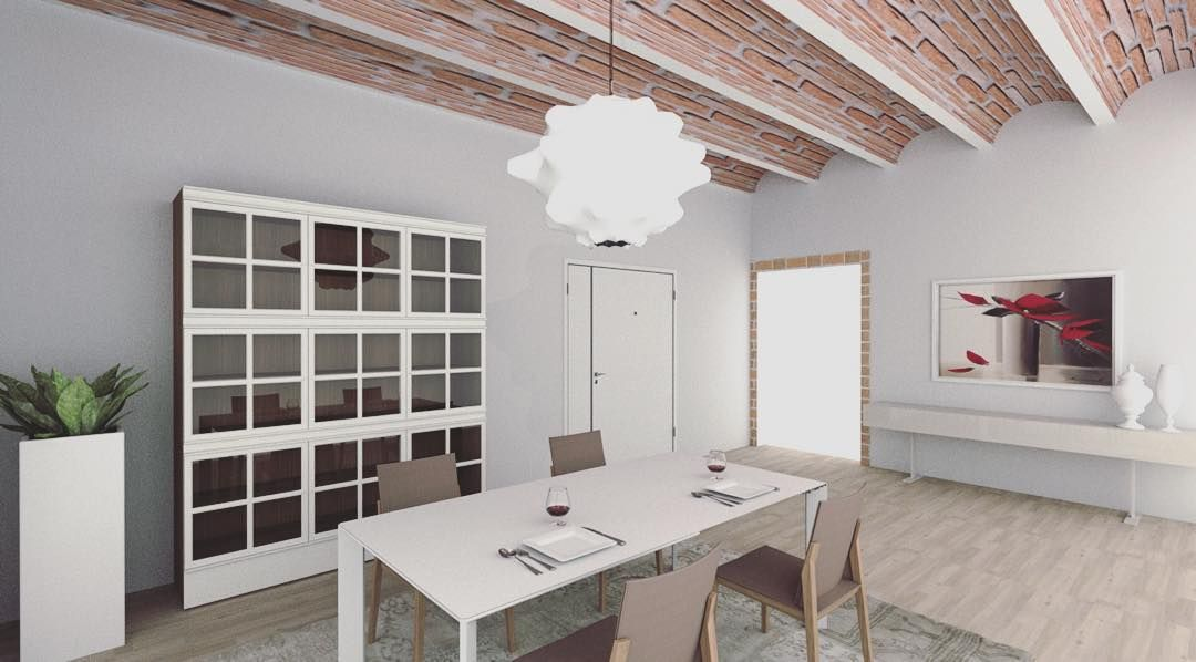 Our Project | Interiors | Dining Room #ourproject #santoriproject  #progettisantori #design #