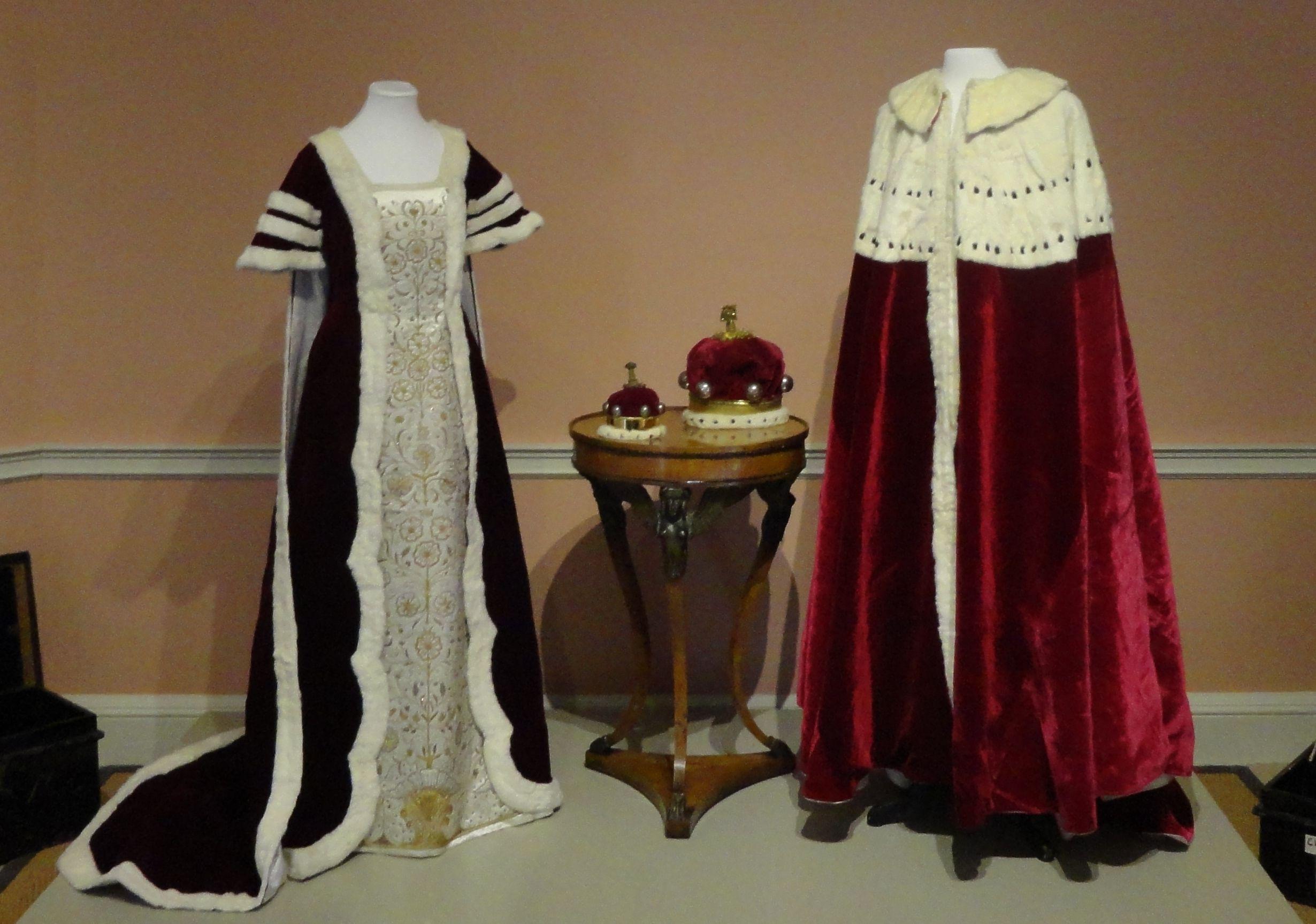 The Coronation Robes Of Thomas Henry Noel-Hill And Teresa