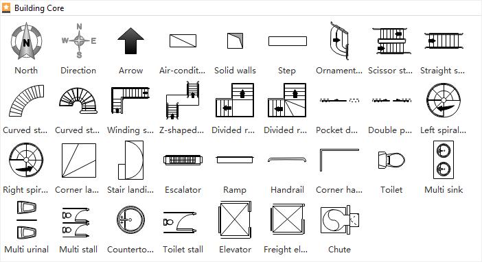 Floor Plan Symbols Floor Plan Symbols Floor Plans Architecture Symbols