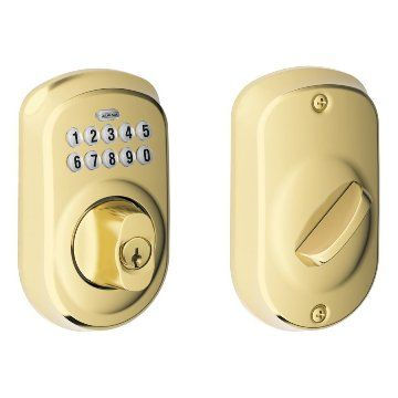 how to change schlage lock battery