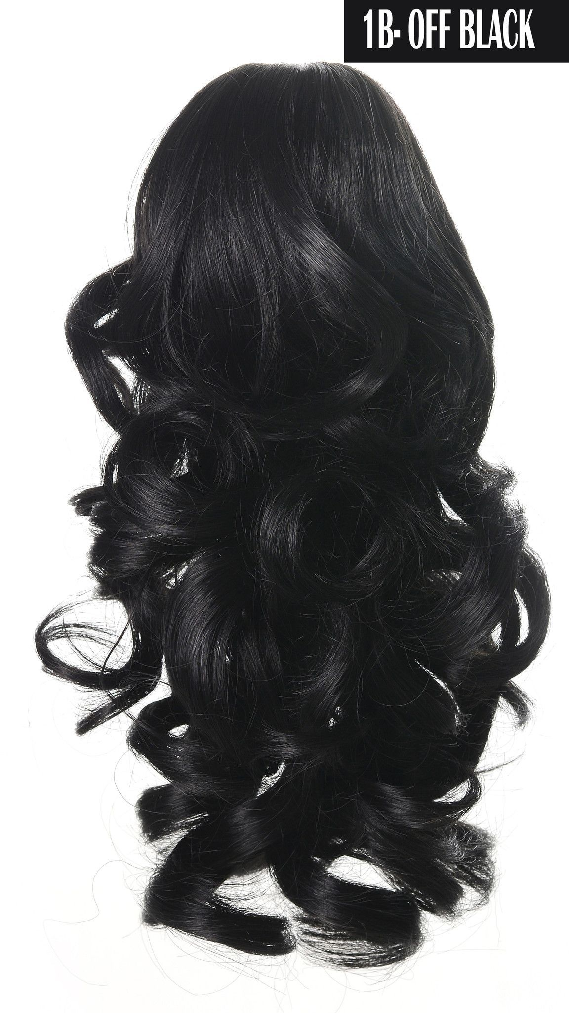 14++ Curly clip on ponytail inspirations
