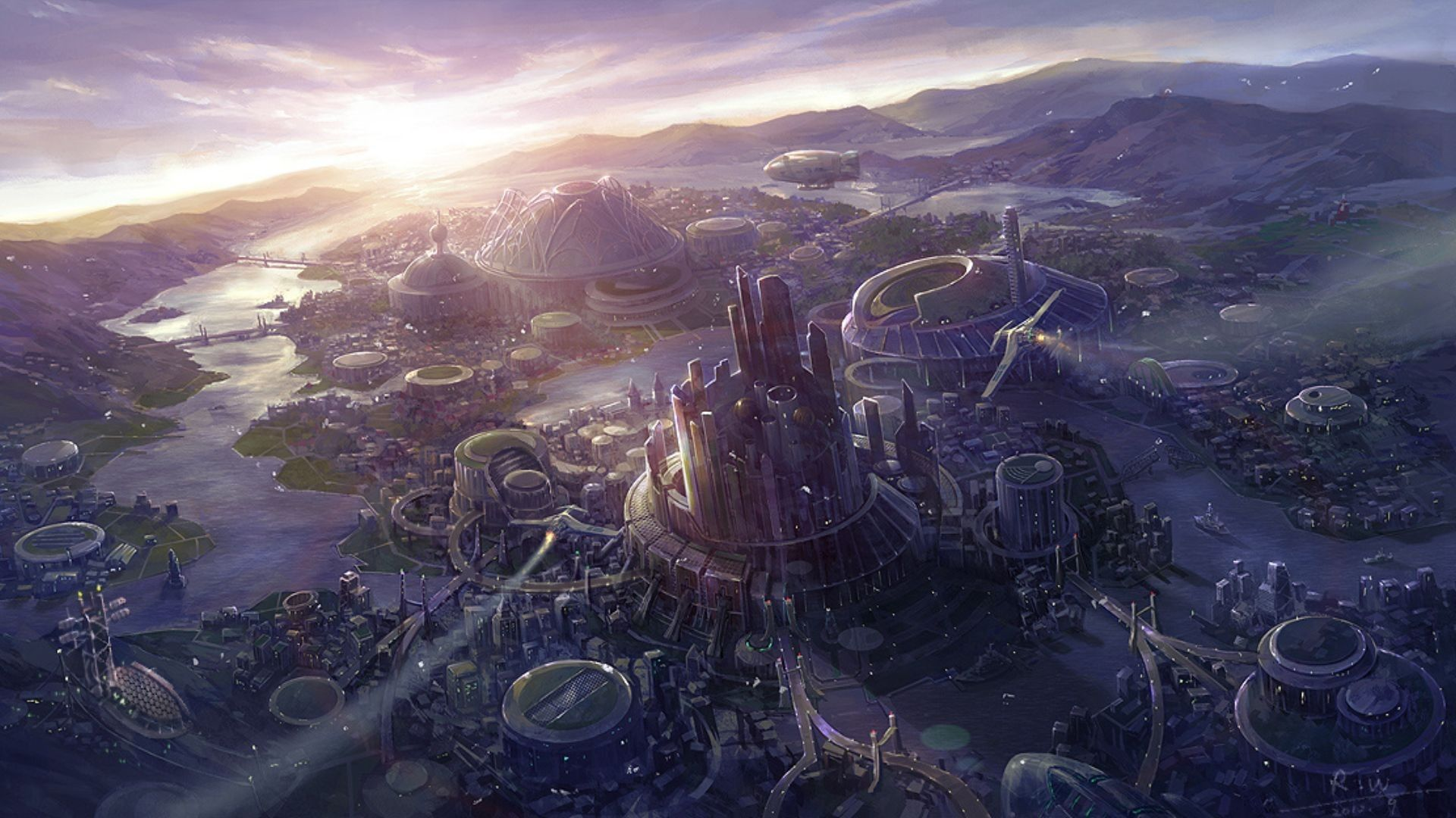 Pin By Saiclone Tempest On Land Concept Art World Concept Art Sci Fi Wallpaper