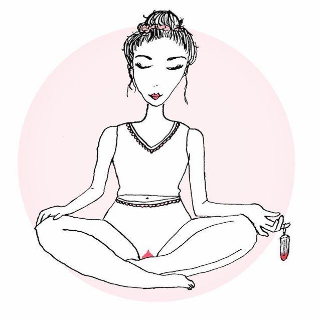 Sometimes you need to relax and unplug. Cute art from @diemenstruationsbeauftragte. #selfcaresunday #innergoddess #periodproblems #bleed #tampon #freebleed #itsok #womenstandingtall #unplug #mindfulness #menstruationmatters