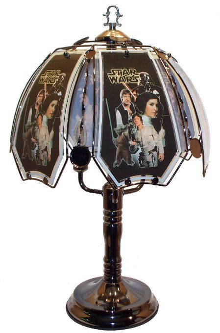 Pin By The Musings Gleanings Of A S On Geek Cave Touch Lamp Star Wars Decor Lamp